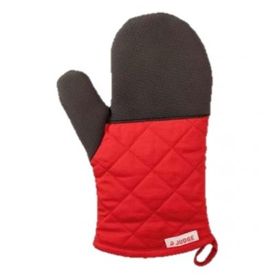 Judge oven glove red
