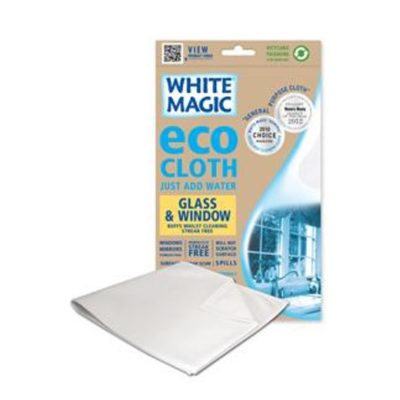 White Magic Eco Cloth Window & Glass