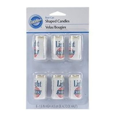 wilton candles 6 pack beer