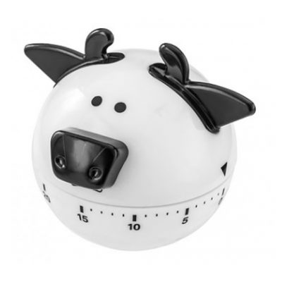 judge kitchen timer cow