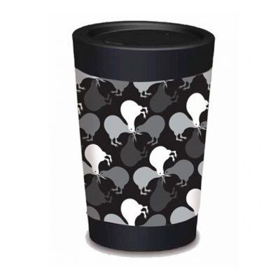 Cuppacoffeecup black kiwis