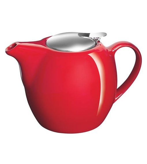 Avanti 500ml Camelia teapot red
