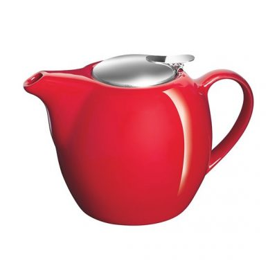 Avanti 750ml Camelia teapot red