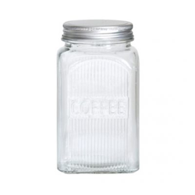 classic glass canister coffee
