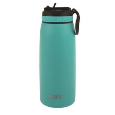Oasis sports bottle 780ml with straw turquoise