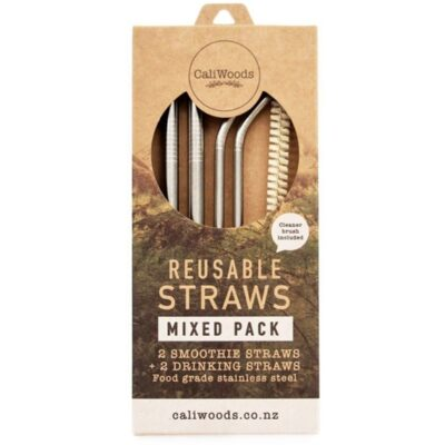 CaliWoods Reusable Mixed Pack Straws