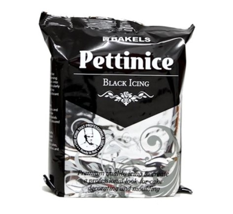 Bakels Pettinice black icing