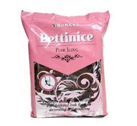 Bakels Pettinice pink icing