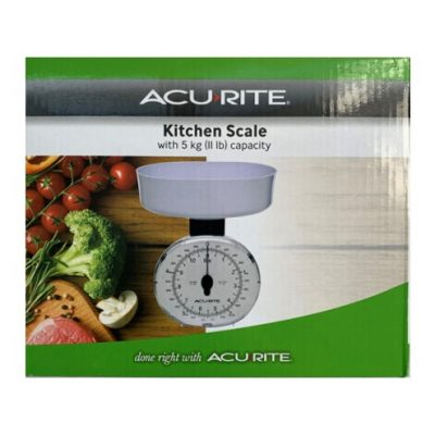 Acurite 5kg kitchen scales