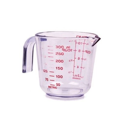 Appetito plastic 300ml 1cup measuring jug