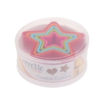 Appetito star cookie cutter set