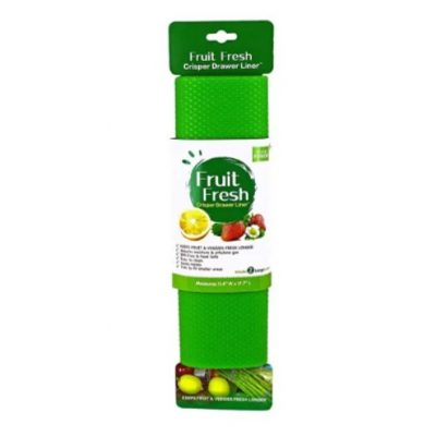 Fruit fresh crisper drawer liner