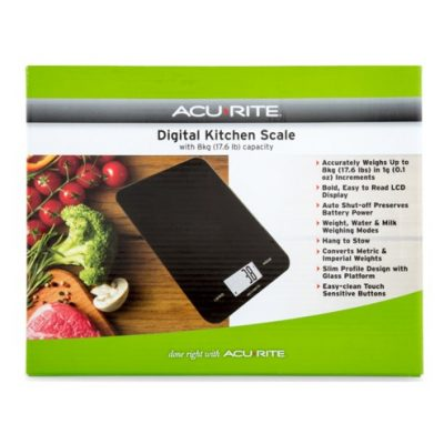 acurite digital kitchen scales 5kg