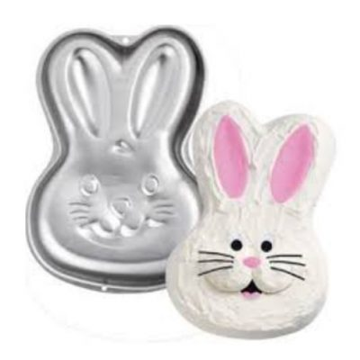 bunny cake pan