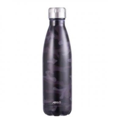 Avanti 500ml drink bottle grey camo